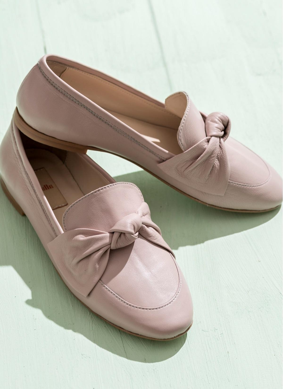 Elle %100 Deri Loafer Ayakkabı